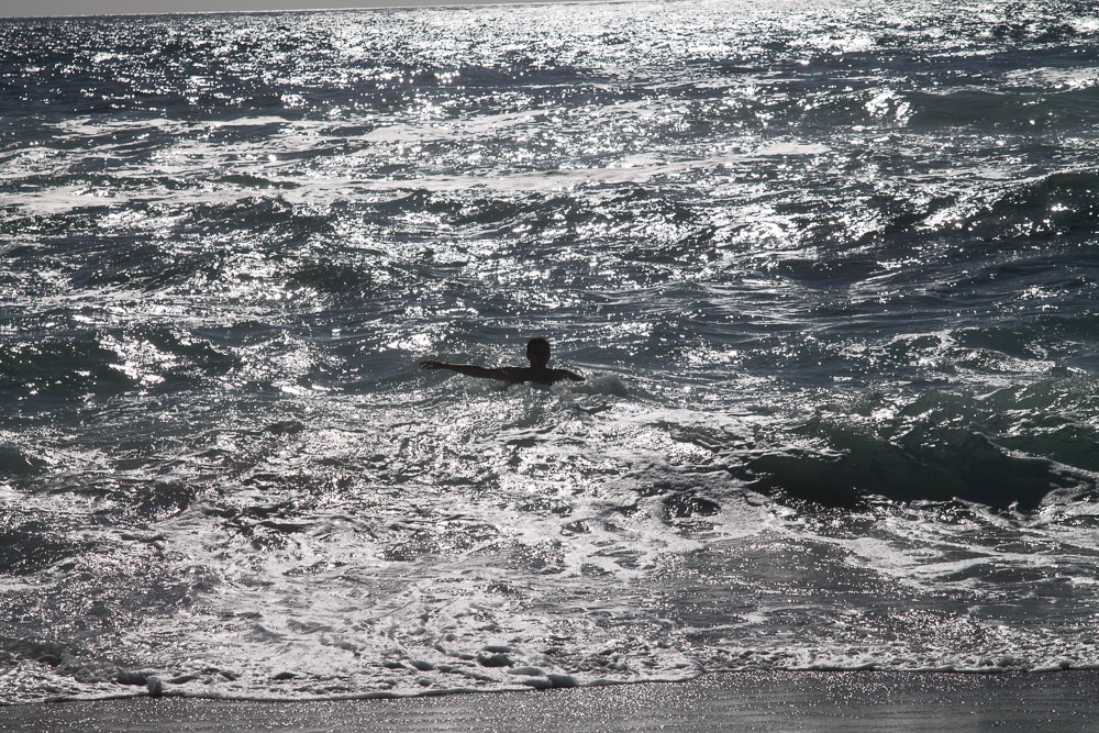 Koupu se v Pacifiku